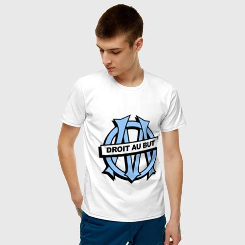 Мужская футболка хлопок Олимпик Марсель Фото 01
