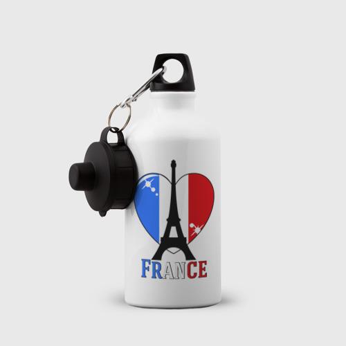 Бутылка спортивная  Фото 03, Люблю Францию