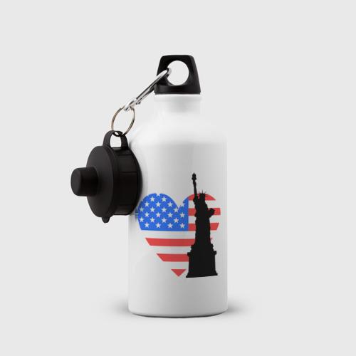 Бутылка спортивная  Фото 03, Люблю Америку