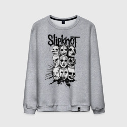 Slipknot black and white