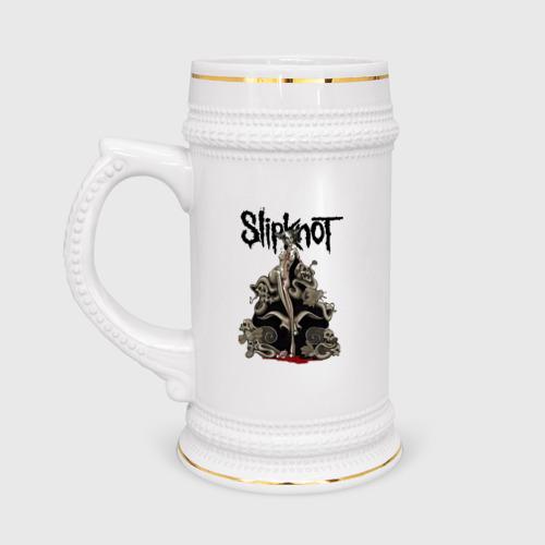 Slipknot illustration skulls