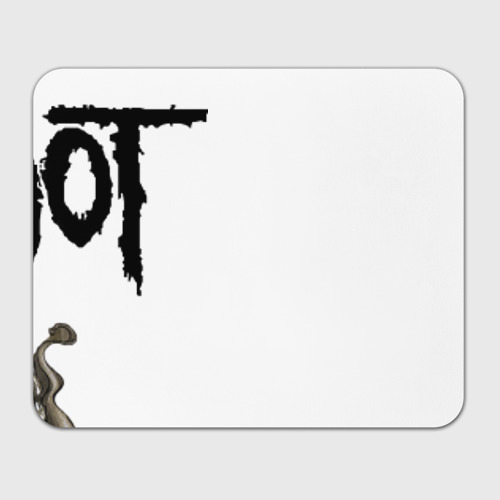 Коврик прямоугольный  Фото 01, Slipknot illustration skulls