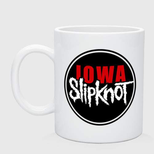 Кружка Slipknot iowa logo