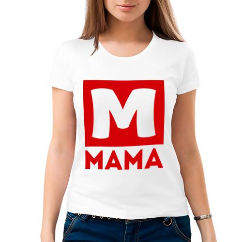 Женская футболка хлопок  Фото 03, Мама - М
