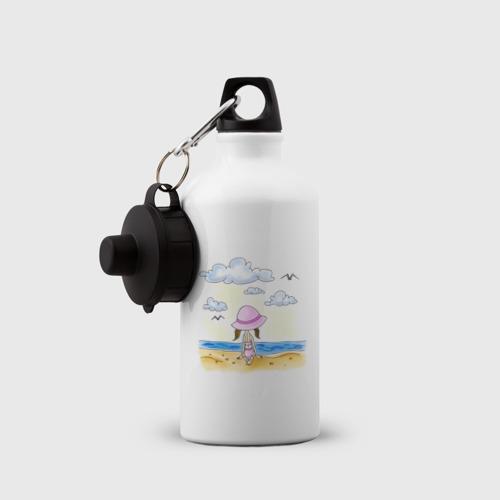 Бутылка спортивная  Фото 03, Дочь на пляже