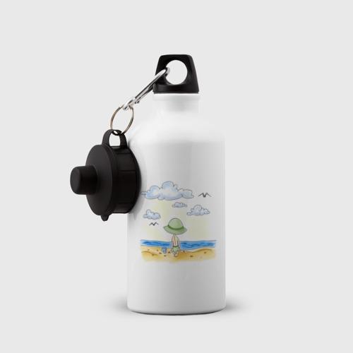 Бутылка спортивная  Фото 03, Сын на пляже
