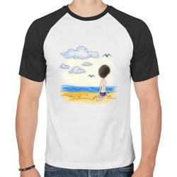 Папа на пляже