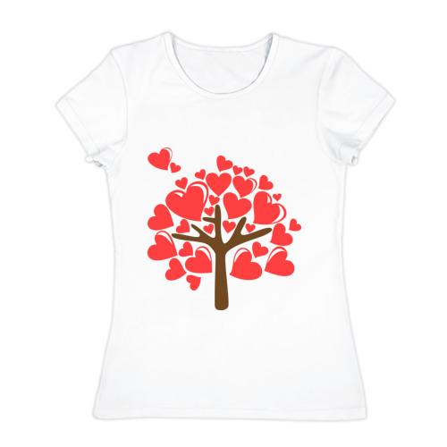 Женская футболка хлопок  Фото 01, Семейное дерево. Мама