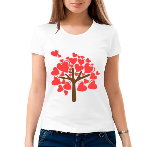 Женская футболка хлопок  Фото 03, Семейное дерево. Мама
