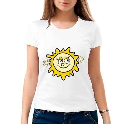 Женская футболка хлопок  Фото 03, Солнышко мама