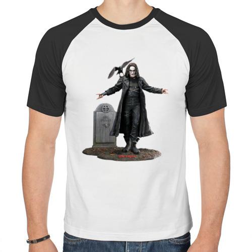 Мужская футболка реглан  Фото 01, The crow (Ворон)