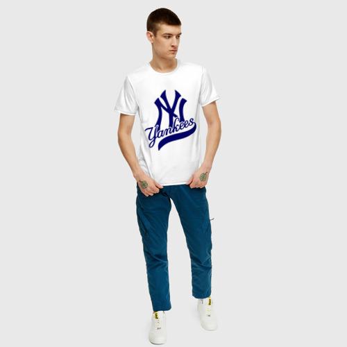 Мужская футболка хлопок NY - Yankees Фото 01