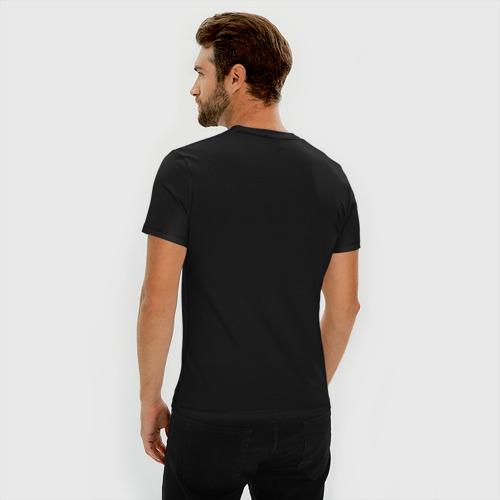 Мужская футболка премиум bender monochrome Фото 01