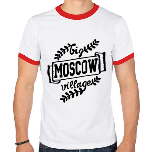 Мужская футболка рингер  Фото 01, Big village Moscow