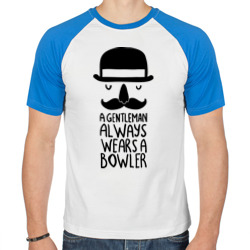 Gentleman wears bowler