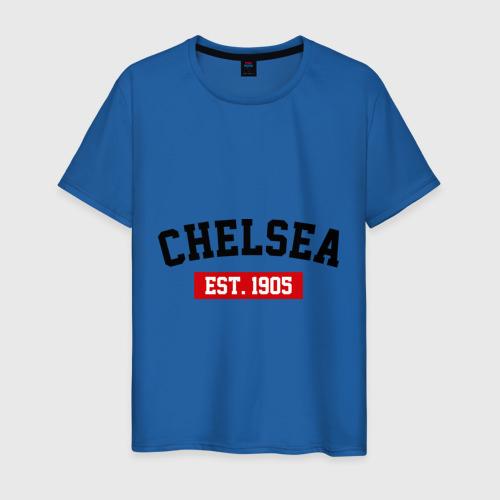 Мужская футболка хлопок FC Chelsea Est. 1905 Фото 01