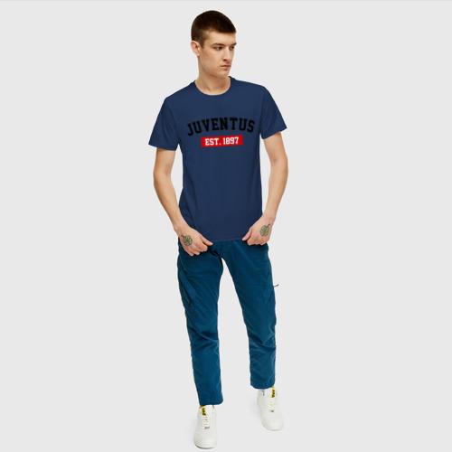Мужская футболка хлопок FC Juventus Est. 1897 Фото 01