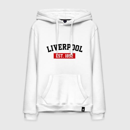 Мужская толстовка хлопок FC Liverpool Est. 1892