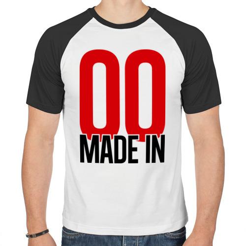 Мужская футболка реглан  Фото 01, Made in 00s