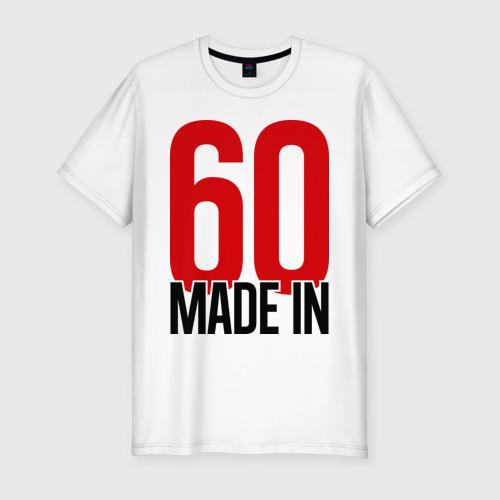 Мужская футболка премиум  Фото 01, Made in 60s