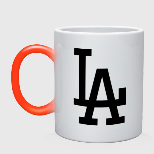 Кружка хамелеон Los Angeles