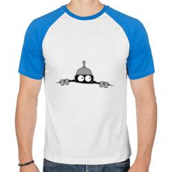Bender из-под футболки