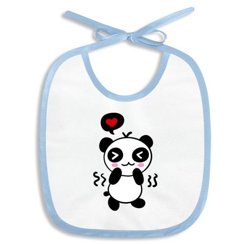 Слюнявчик Panda boy