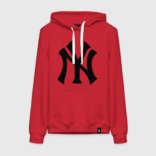Женская толстовка хлопок New York Yankees