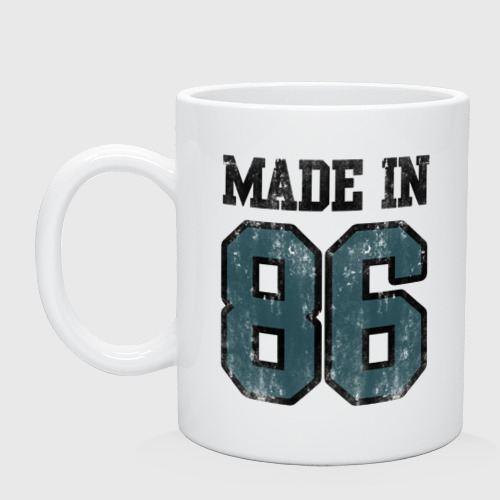 Кружка Made in 86