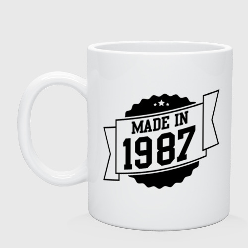 Кружка Made in 1987