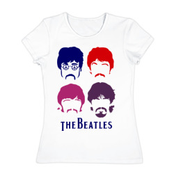 The Beatles faces