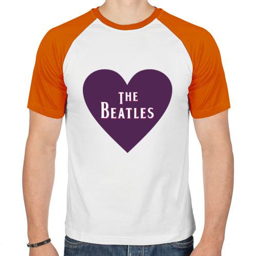 Мужская футболка реглан  Фото 01, The Beatles is love