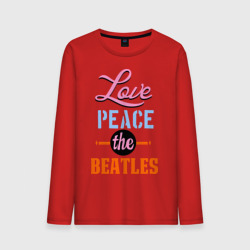Love peace the Beatles