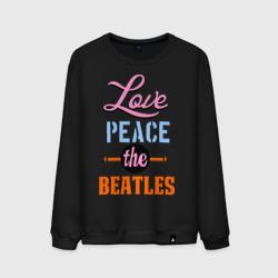 Love peace the Beatles