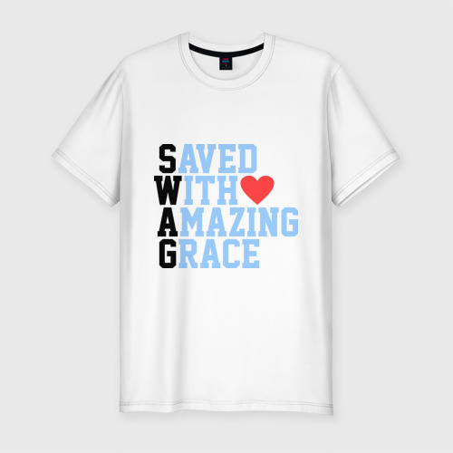 Мужская футболка премиум  Фото 01, Swag Love