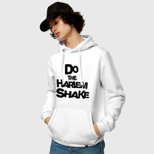 Мужская толстовка хлопок  Фото 03, Do the harlem shake надпись