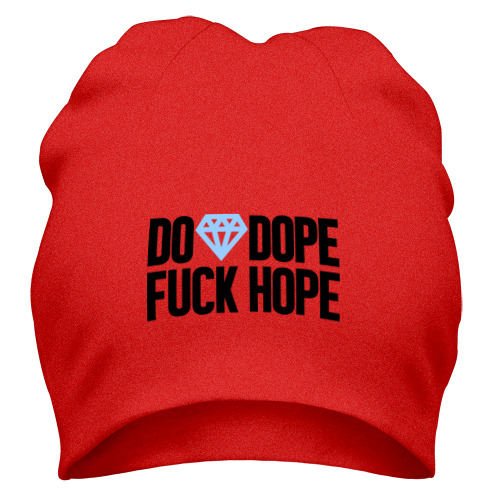 Шапка Do Dope Fuck Hope