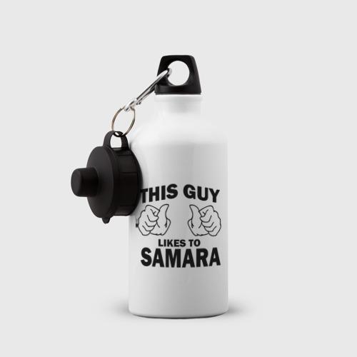 Бутылка спортивная  Фото 03, Этот парень любит Самару