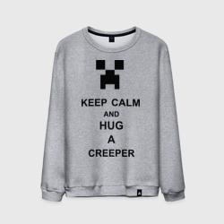 keep calm and hug a creeper