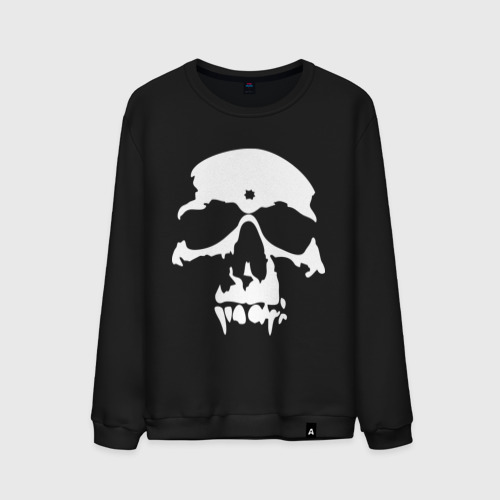 Мужской свитшот хлопок  Фото 01, skull (череп)