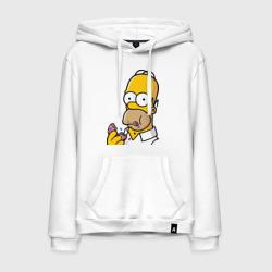Гомер с  Пончиком