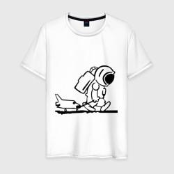 Ребенок космонавт с шаттлом