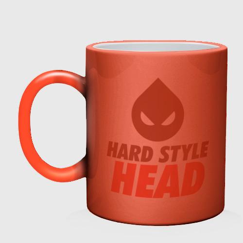 Кружка хамелеон  Фото 02, Hard Style Head