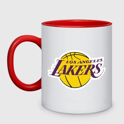 Кружка двухцветная  Фото 01, LA Lakers