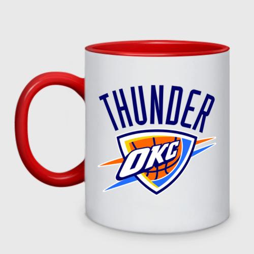 Кружка двухцветная  Фото 01, Thunder