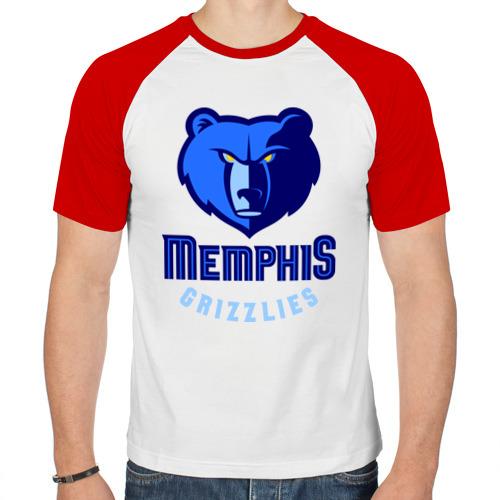 Мужская футболка реглан  Фото 01, Memphis