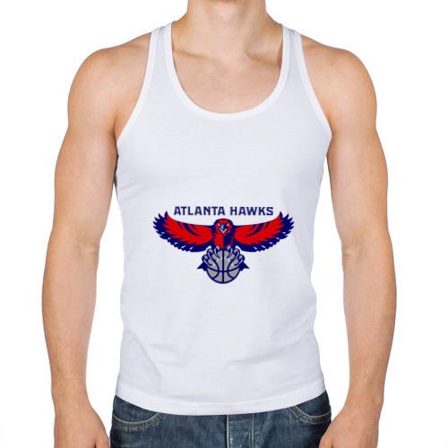 Мужская майка борцовка  Фото 01, Atlanta Hawks - logo