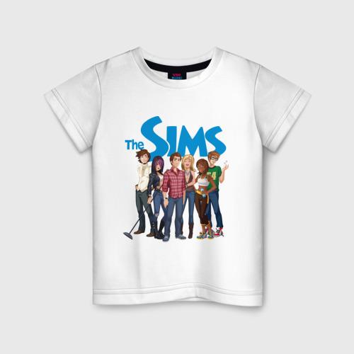 Детская футболка хлопок The Sims heroes 4XS фото