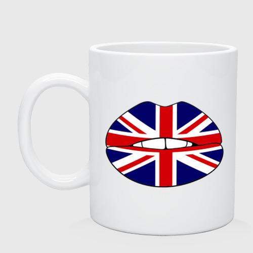 Кружка  Фото 01, Britain lips