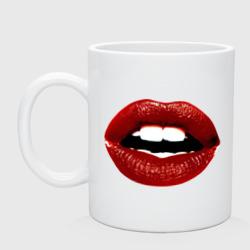 Pop art lips